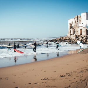 Family Surf week morocco